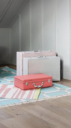 Large Loft Decorative Storage Suitcase