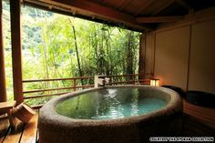 'from the 5 most peaceful ryokan around tokyo'.  i've stayed in a ryokan in kyoto and it was so peaceful.