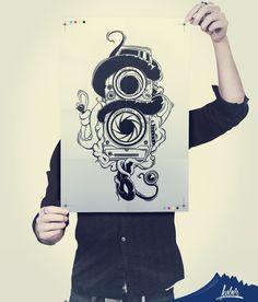 #Iliustration #Drawing #sketch #Ilustración #Illustrator #Creativo #Diseño Diseño Camara256