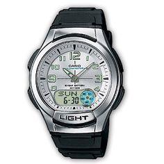 Casio AQ-180W-7BVES Collection heren horloges op Horlogeloods.nl!
