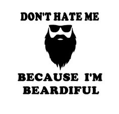 Is your man the proud owner of a full beard? Then this is the perfect shirt for him!  This listing is for one SHORT sleeve t-shirt made using high quality heat transfer vinyl and Gildan brand t-shirts. The image will be in WHITE vinyl. You may choose the color of your shirt in the drop down settings. Available Sizes: Adults - S, M, L, XL, XXL  T-Shirt Details: These Gildan shirts are 100% cotton to a 50/50 cotton, polyester blend depending on the color. If you have questions please conta...
