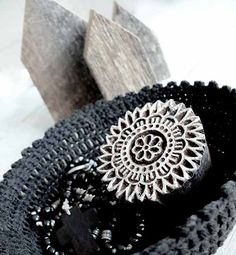 Basket Cotton Black