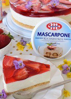 Mascarpone Cream Cheese, Polish Recipes, Cheesecake Recipes, Cheesecakes, Oreo, Tart, Cravings, Sweet Tooth, Food And Drink