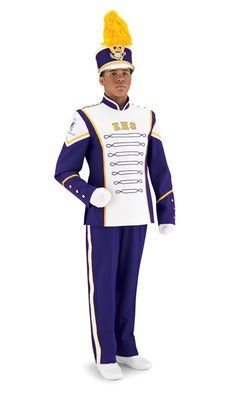| marching jackets insignia marching band