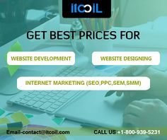 Looking for promote your New Brand or Product through online marketing. ITCOIL Digital Marketing is one of the best solutions, contact us today! #OnlineMarketing #DigitalMarketing #WebsiteDesigning #ITCOILUSA