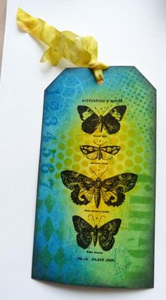Love this vibrant tag! Student work by Chris Slater in Inventive Ink Colorful Mixed Media Effects class. #afflink #marjiekemper http://shareasale.com/r.cfm?b=253536&u=702304&m=29190&urllink=www%2Ecraftsy%2Ecom%2Fpaper%2Dcrafts%2Fclasses%2Finventive%2Dink%2Dcolorful%2Dmixed%2Dmedia%2Deffects%2F39967&afftrack=