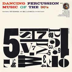 Dancing Percussion Record Cover