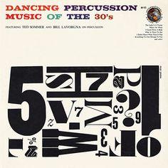 Dancing Percussion Record Cover