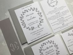 Simple but very pretty - the Country Wreath invitation is ideal for a rustic wedding in the countryside but also for a very classic, elegant and formal affair. Bold and beautiful - and brilliant if you are just wanting a clean, clear statement for your wedding. As with all the designs, the colours are fully customisable to tailor around your wedding day. Wedding Invitation Design, Wedding Stationery, Rustic Wedding, Wedding Day, Country Wreaths, Place Names, Digital Marketing Services, Stationery Design, Table Plans