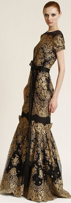 Carolina Herrera Pre-fall 2011-12♥✤ | Keep the Glamour | BeStayBeautiful glamour gown