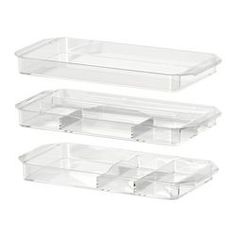 IKEA - GODMORGON, Storage unit, set of 3, , 10-year Limited Warranty. Read about the terms in the Limited Warranty brochure.Helps you organize your jewelry and make-up.