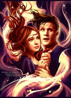 Saimain (Adele Lorienne) - DeviantArt    Best friends The Doctor and Amy