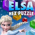Elsa Hex Puzzle Drag the hex pieces onto the board and try to score as many points as possible!