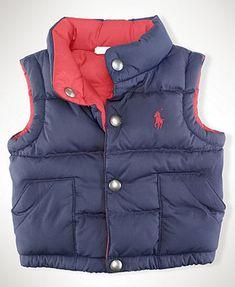 Ralph Lauren Baby Vest, Baby Boys Elmwood Puffer Vest - Kids Baby Boy (0-24 months) - Macy's