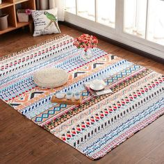 Lanskaya 2017 Special Offer Tapete Tapetes Romantic Tatami Mat Carpet Quilted Cotton Ground For Peace Yoga Baby Crawls Rug Soft Play Mats, Tatami Mat, Discount Area Rugs, Rug Yarn, Shaw Carpet, Warm Home Decor, Nursery Rugs, Textiles, White Carpet