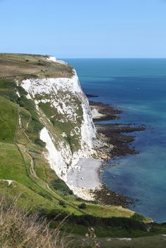 White cliffs of Dover - Kent, England