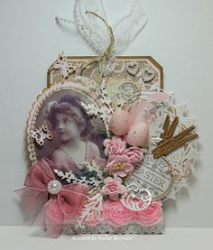 "Ineke""s Creations ♥ Easter tag gorgeousness"