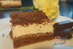 Příprava receptu Famózní zákusek se zakysanou smetanou - Fotopostup, krok 8 Sweets Cake, Kakao, Tiramisu, Baking, Ethnic Recipes, Desserts, Food, Creme, Author