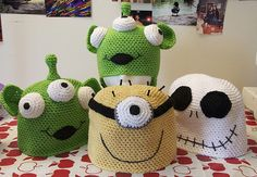 Crochet hats ....I would love to create these