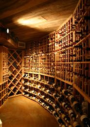 beautiful wine cellar that i need to have in my future basement. ill also be needing that much wine too.