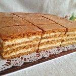 Mézeskalács szelet   mókuslekvár.hu Honey Recipes, Sweet Recipes, Cake Recipes, Dessert Recipes, Hungarian Desserts, Hungarian Recipes, Ital Food, Delicious Desserts, Yummy Food