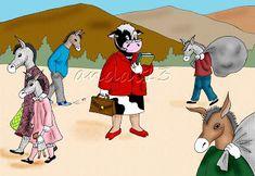 LÁPIZ Y PAPEL: La vaca estudiosa Donald Duck, Disney Characters, Fictional Characters, Family Guy, Guys, Cow, Short Stories, Fantasy Characters, Sons