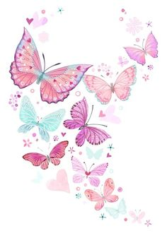 Leading Illustration & Publishing Agency based in London, New York & Marbella. Butterfly Background, Butterfly Wallpaper, Pink Butterfly, Cute Wallpapers, Wallpaper Backgrounds, Iphone Wallpaper, Pastell Tattoo, Art Papillon, Anniversary Ideas For Him
