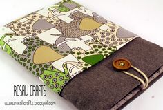 "Rosalí Crafts. Accesorios personalizados.: Funda para Tablet / E-book 7"":"