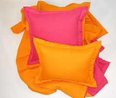Diamond Quilt reversible. Love the colors