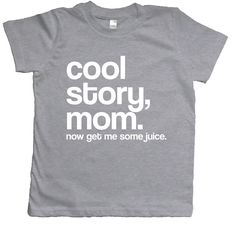 Toddler Clothes, Kid Clothes, Hipster Toddler Clothes, Cool Story Mom, Boy Toddler, Girl Toddler, Funny Toddler shirt, Cool Story Bro, Meme