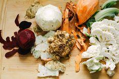 lemon rosemary vegetable stack with lentils + creamy horseradish vinaigrette » The First Mess