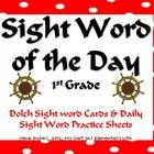 This pack can be used in a variety of different ways. One way I use this in my classroom is as a daily practice of a sight word and as a transition...