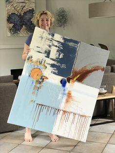 """""""Differentiatie""""  Acryl op doek, 100x120 cm. Heb je interesse, neem dan contact op door middel van een persoonlijk berichtje. foto van E-cryls by Ellen."""