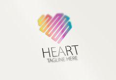 Heart Logo by eSSeGraphic on Creative Market
