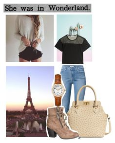 """""""Untitled #295"""" by mercedes-designs on Polyvore featuring 7 For All Mankind, Brooks Brothers, maurices, Timex and adidas"""