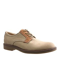 "Bass ""Pasadena"" Oxford Shoes in Natural."
