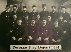 Owosso Fire Department - Michigan - circa 1900