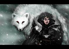 33 dibujos de Jon Snow y Ghost para usar como wallpaper | It's Spoiler Time! Jon Snow, Game Of Thrones Wallpaper, Comics, Fictional Characters, Rpg, Dogs, Men, Drawings, Jhon Snow