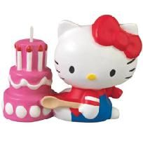 Hello Kitty Birthday Candle...perfect for HK themed birthday party.....