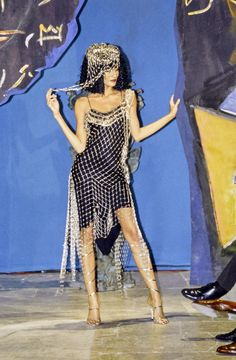 John Galliano Fall 1997 Ready-to-Wear Fashion Show - Astrid Muñoz