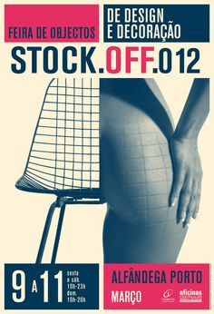 Stock-Off Poster by António Queirós Design , via Behance