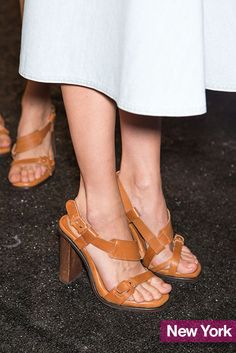 Lacoste spring 2015 simple leather sandals