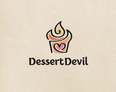 Dessert Devil by Veneta R   -   Food Logo   -   logopond.com