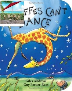 GIRAFFE CAN'T DANCE By Giles Andreae & Rees Board Book 32 Pages New Free Shipp.. #Scholastic