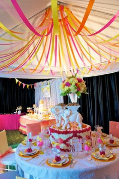 booths for circus themed events | Circus Themed Wedding