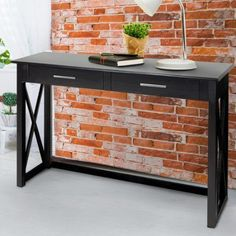 Casual Home Bay View Console Table Finish: Black Narrow Dining Tables, Sofa Tables, Entryway Tables, Console Tables, Dining Area, Kitchen Furniture, Home Furniture, Furniture Ideas, Cheap Furniture