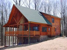 Hocking Hills Log Cabin and Luxury Accommodations Hocking Hills Ohio ; Bella Luna Log Cabin $275/night
