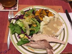Roared turkey stuffed with elephant Garlic and sour cherries, mashed and gravy, sweet potatoes, spring salad . Chased with fresh wild raspberries and blackberries Spring Salad, Sour Cherry, Blackberries, Cherries, Gravy, Sweet Potato, Garlic, Elephant, Turkey