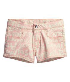 H&M Plus Size Twill Shorts $14.95