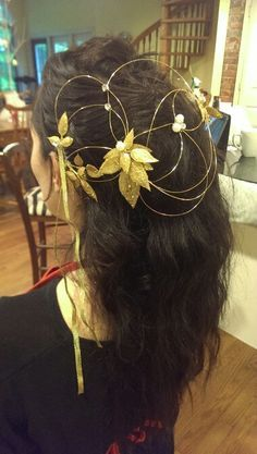 labyrinth sarah hair piece - Google Search